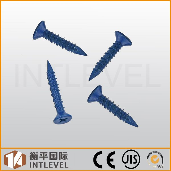 Hi-low thread, concrete screws