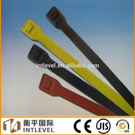 2016 Intlevel Hot sale plastic cable tie nylon 66 round cable tie